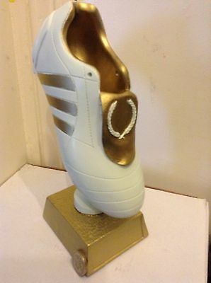 """TROPHY BOOT Football or Rugby 9"""" CASE OF SIX Retailed at £14ea x14=£84"""