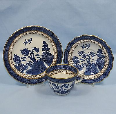 Booths Real Old Willow A8025 Tea Cup Saucer & Plate
