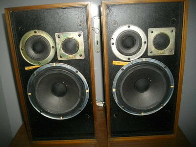 WHARFEDALE LINTON 3 SPEAKERS Vintage Made IN ENGLAND