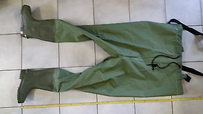 Sealbay Pvc Waders One Size Top, Boots Size 8