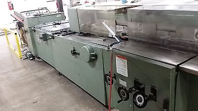 """Complete Muller Martini SF Normbinder Head with 24"""" clamps"""