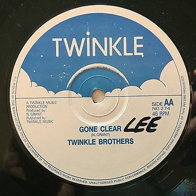 TWINKLE BROTHERS - Gone Clear - TWINKLE   80's roots