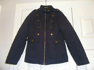 Next Girls Padded Coat size 7-8 years