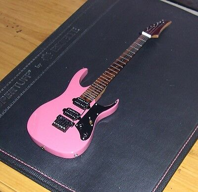 NEW Ibanez RG 560 1990 Purple / Wine - Scorpion Pink Electric Miniature Guitar
