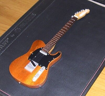 NEW Miniature Electric Guitar Bruce Springsteen Born to Run Esquire - Brown