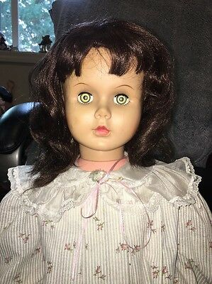 "Vintage 35"" Walker Patti Playpal Size Uneeda Doll"