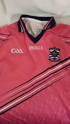 NYPD New York Police Gaelic Football Shirt - O'Neills Pink Large Women's