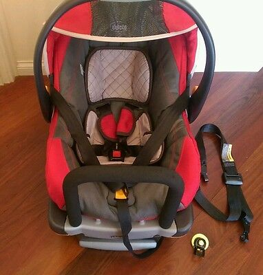 Chicco KeyFit 30 Infant Car Seat & Base - Fire/Red
