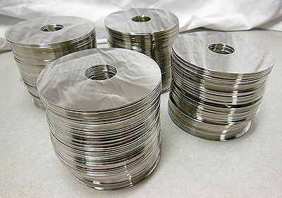 Over 14Lbs (283) of hard drive platters for precious metals recovery