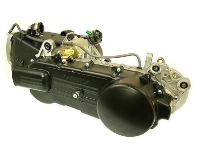 Engine completely 125cc GY6 China 4T long drum brake - Baotian-BT125T-2A
