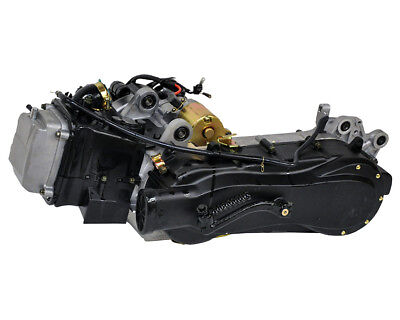 Engine completely 125cc GY6 China 4T long drum brake - Longjia-LJ125T-A