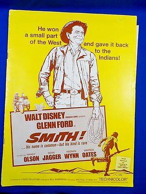 Vintage 1968 Disney Smith! with Ad Pad Press Kit Campaign Book RARE!
