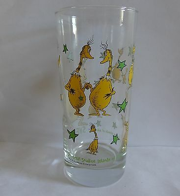 Dr. Seuss Drinking Glass Universal Studios Islands Of Adventure SNEETCHES