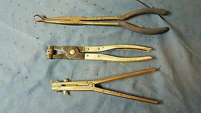 Lot of 3 Vintage Speciality Pliers