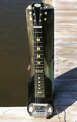Oahu Lap Steel Guitar w Stringtone Chord Changer by Supro/Valco/National – 1952