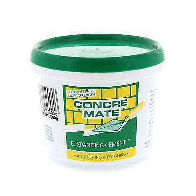 Concrete Mate Expanding Cement Anchor and Patch Timbermate 500g