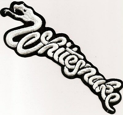 Whitesnake die cut patch large David Coverdale