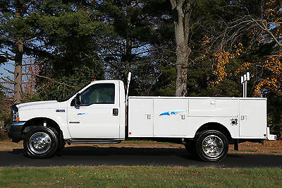 2003 Ford F550 Stahl Utility Body Diesel 82K Actual Miles 1-Owner 4X4 No Reserve
