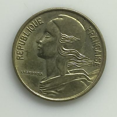 1973 France 5 Centimes Coin