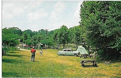 General Burnside State Park Camping Area, Burnside Kentucky 1953 Ford 1954 Ky.