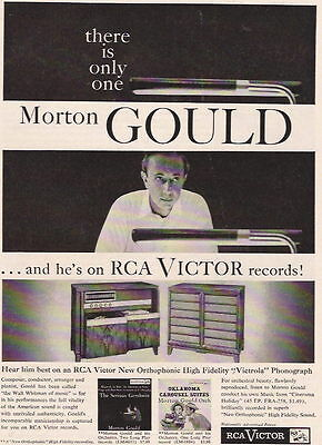 1955 Morton Gould On Rca Records And High Fidelity Ad