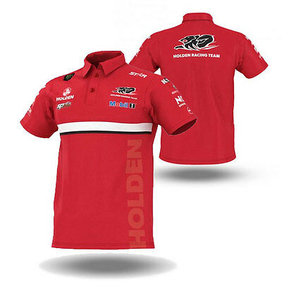 Holden Racing Team Hrt 2016 V8Supercars Mens Team Polo Top Sizes S L 3Xl