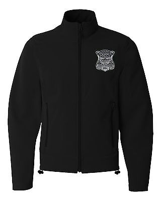 Boston Police Embroidered Badge Jacket