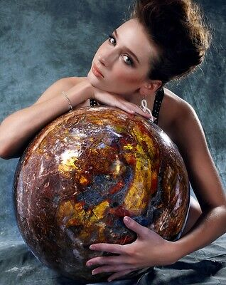 The Biggest Pietersite Sphere in the World,Gemstone,Rare Collection, #581