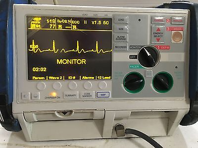 ZOLL M Series Patient Monitor with ECG, Masimo SpO2, NIBP, Pacing, analysis