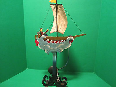 Sailor And Sailboat In Waves Balance Toy Skyhook Teeter Totter