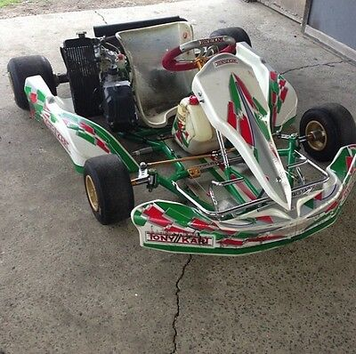 Tony Kart - Rotax Go Kart - Offers Welcome