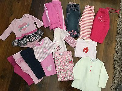 Bulk Lot Baby Girl Size 00 clothing (3-6mths) mixed items