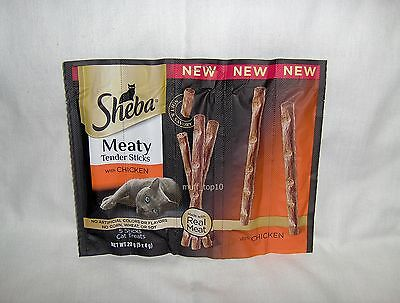 Sheba Meaty Tender Sticks with Chicken x 6 Packs - 30 Treat Sticks Total