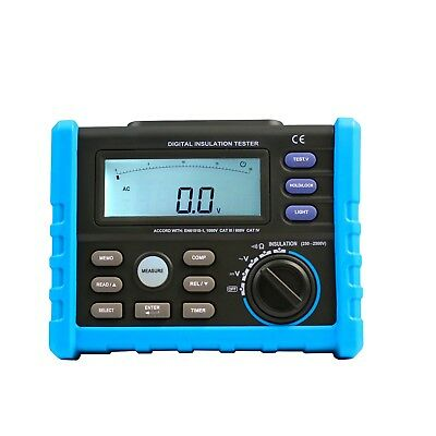 DIGITAL INSULATION TESTER Multimeter compared  AIM02 high voltage tester