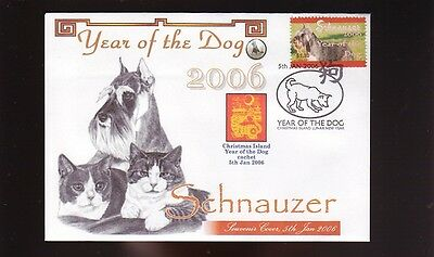 Schnauzer Year Of The Dog Stamp Souv Cover 2