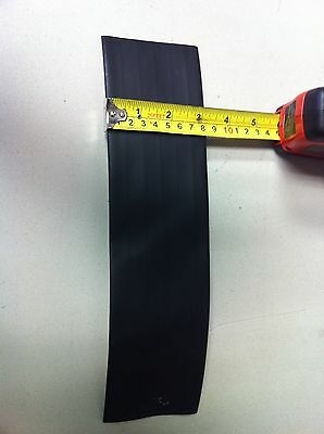 """2"""" ID ThermOsleeve Black Polyolefin 2:1 Heat Shrink tubing - 1' section"""
