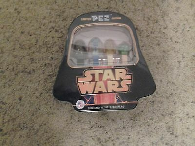 Star Wars Collector Pez Limited Edition Set With Dispensers Candy Sealed