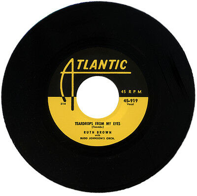 "Ruth Brown & Budd Johnson's Orch.  ""teardrops From My Eyes"" Killer R&b   Listen!"