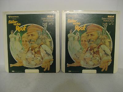 FIDDLER ON THE ROOF - 2 CED Video Discs