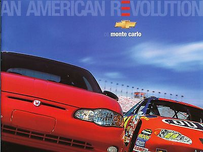 2005 Chevy Chevrolet Monte Carlo Dealer Sales Brochure Literature