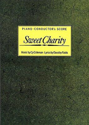 Cy Coleman: Sweet Charity (Piano-Conductor's Score). Voice Sheet Music