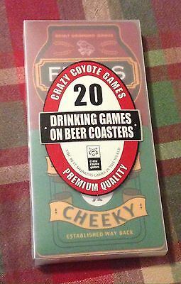 20 Drinking Games on Beer Coasters