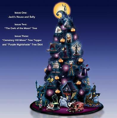 Nmbx Nightmare Before Christmas Tree Topper And Skirt Ornament Issue #3 -In Stok