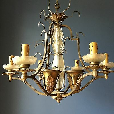 Brass Antiqe Chandelier