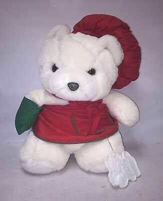 1991 Dayton Hudson Santa Bear Chef Baker Cookie Cutter -  Christmas Teddy Toy
