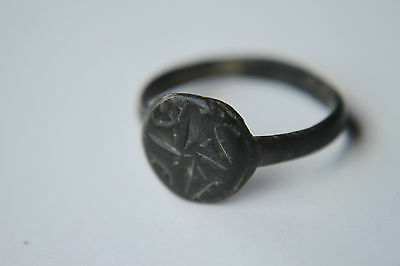 MEDIEVAL PERIOD FINGER RING 16/17th century
