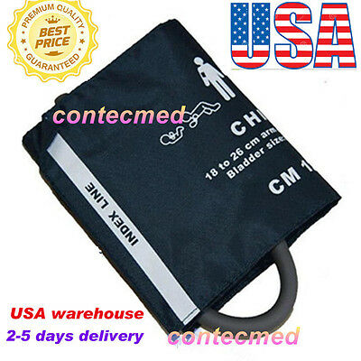 Child Cuff CONTEC Digital Blood Pressure Monitor,Patient Monitor 18-26 Arm