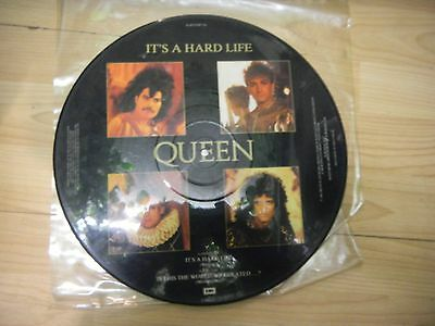 """Queen - It's A Hard Life 12"""" UK Picture Disc (Freddie Mercury, Brian May)"""