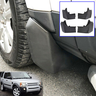 Set Fit For Land Rover Discovery 3 2004-2008 Molded Mud Flap Flaps Splash Guards