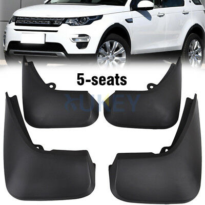 Front Rear Mudflaps Fitfor Discovery Sport 5Seat 2015 2016 Mud Flap Splash Guard